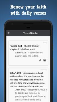 BIBLE SPANISH ENGLISH screenshot 3