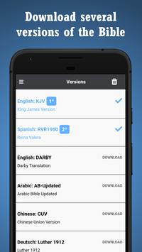 BIBLE SPANISH ENGLISH screenshot 5