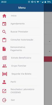 CASSEMS - Beneficiários screenshot 2
