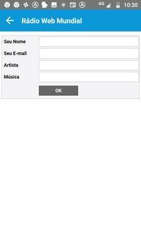 Rádio Web Mundial screenshot 2