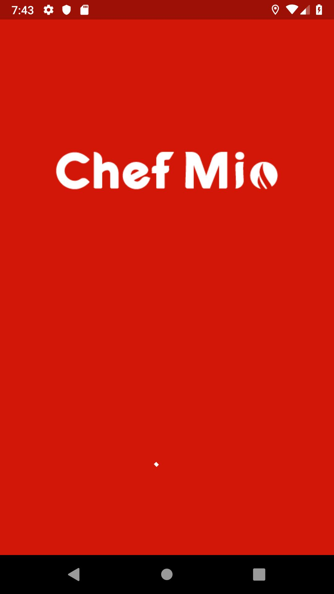 Chef Mio Delivery poster