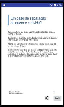 Dívidas - O Guia do Devedor - 2 screenshot 1