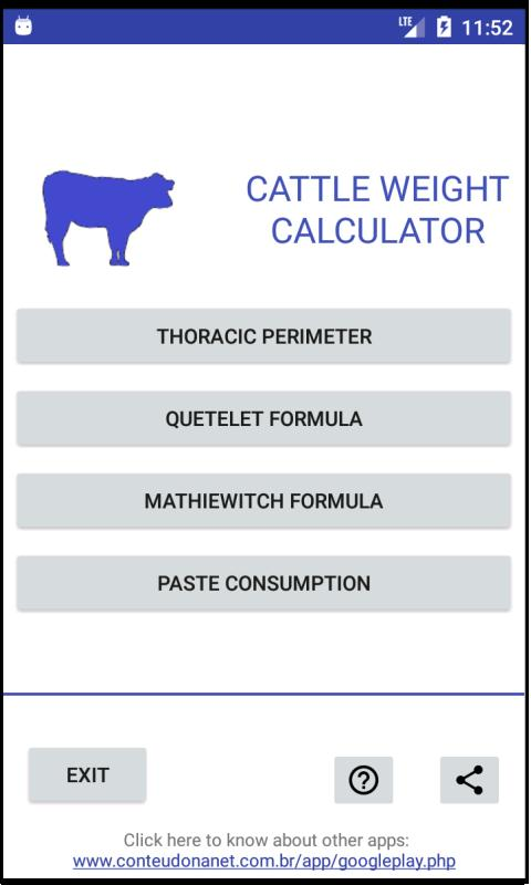 Cattle Weight for Android - APK Download