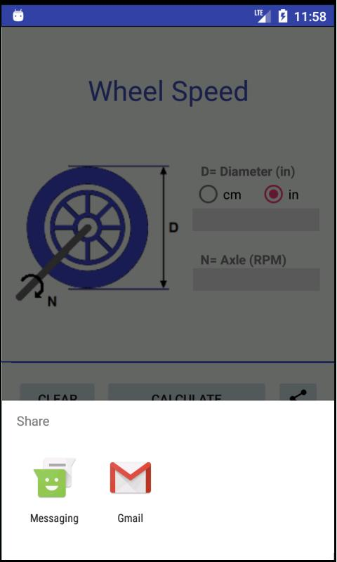 Wheel Speed - Calculator for Android - APK Download