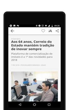 Jornal Correio do Estado screenshot 13