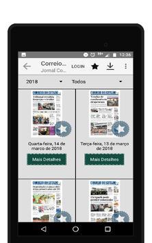 Jornal Correio do Estado screenshot 14