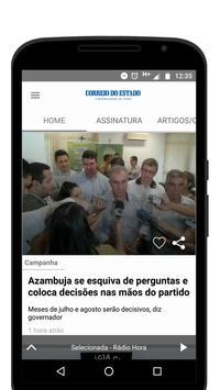 Jornal Correio do Estado screenshot 1