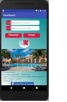 HotelSearch screenshot 1