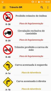 Sinalização de Trânsito do Brasil - Trânsito BR poster