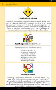 Sinalização de Trânsito do Brasil - Trânsito BR screenshot 11