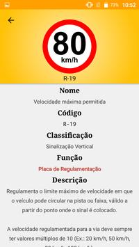 Sinalização de Trânsito do Brasil - Trânsito BR screenshot 1