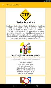 Sinalização de Trânsito do Brasil - Trânsito BR screenshot 20