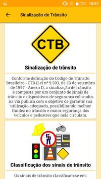 Sinalização de Trânsito do Brasil - Trânsito BR screenshot 4