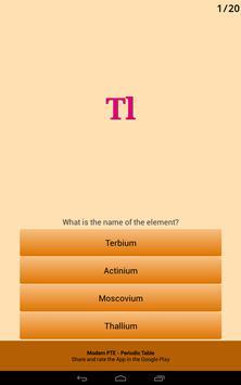 Periodic Table of the Chemical Elements Ekran Görüntüsü 15