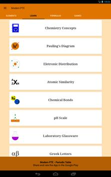 Periodic Table of the Chemical Elements Ekran Görüntüsü 11