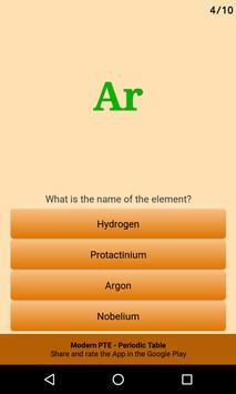 Periodic Table of the Chemical Elements Ekran Görüntüsü 7