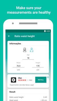 Monitor de peso y calculadora de IMC captura de pantalla 6