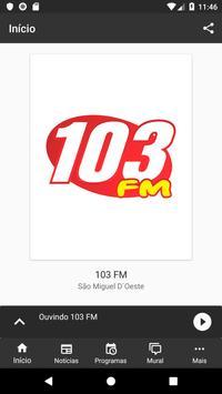 Rádio 103 FM screenshot 1
