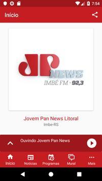 Litoral - Jovem Pan News 92,3 screenshot 2