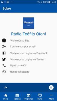 Rádio Teófilo Otoni screenshot 3