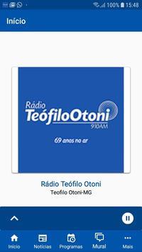 Rádio Teófilo Otoni poster