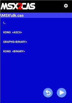 MSX2Cas Screenshot 4