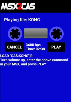 MSX2Cas Screenshot 5