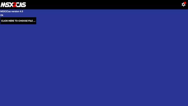 MSX2Cas screenshot 7