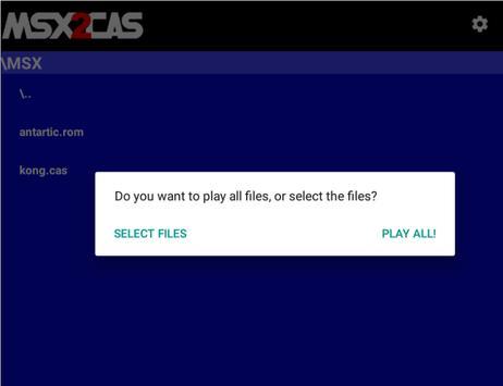 MSX2Cas Screenshot 8
