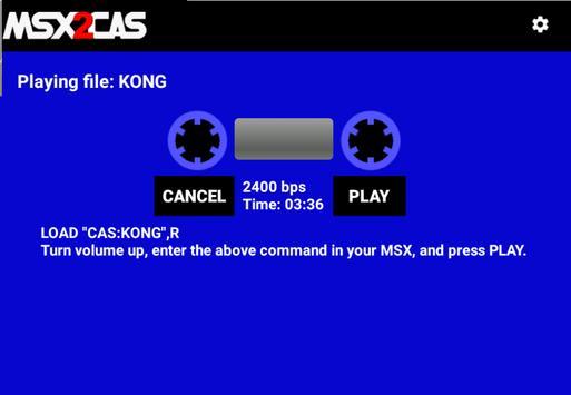 MSX2Cas screenshot 10