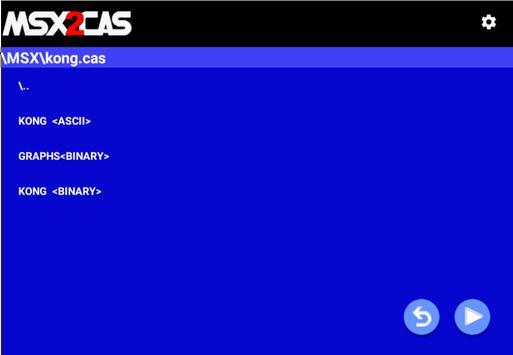 MSX2Cas Screenshot 9