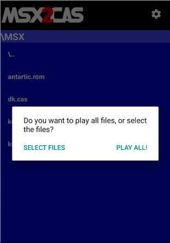 MSX2Cas Screenshot 3