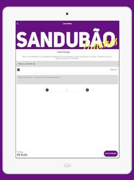 Sandubão Lanches screenshot 6