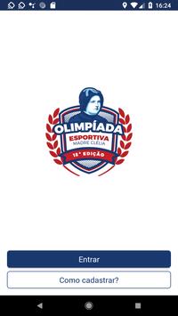 Olimpíada Madre Clelia poster