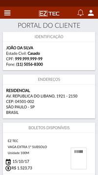 Portal do Cliente screenshot 2