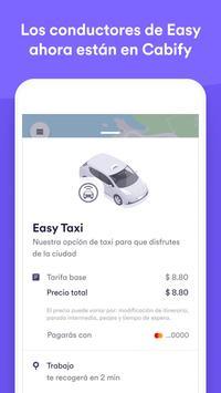 Easy Taxi, una app de Cabify Poster