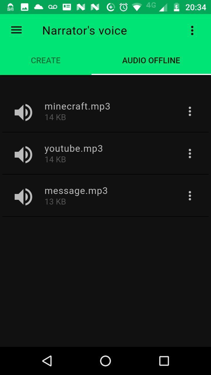Narrator's Voice for Android - APK Download