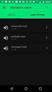 Narrator's Voice screenshot 2