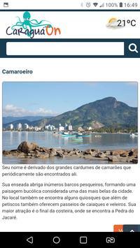 Caraguá On screenshot 2