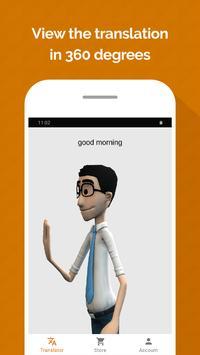 Hand Talk screenshot 1