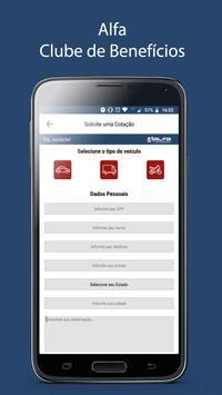 Alfa Clube screenshot 2