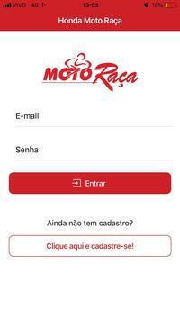 Honda Moto Raça poster