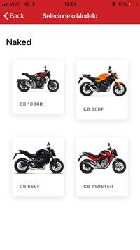 Honda Moto Raça screenshot 2