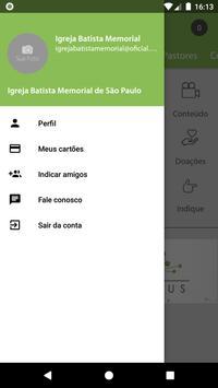Igreja Batista Memorial SP - ibmemorial ảnh chụp màn hình 3