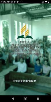 Igreja Adventista Central de Laranjeiras poster