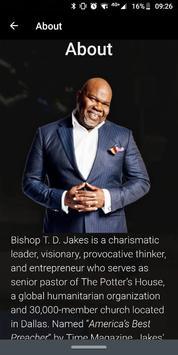 TD Jakes Ministries Ekran Görüntüsü 6