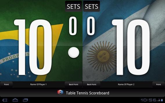 Table Tennis Scoreboard screenshot 5