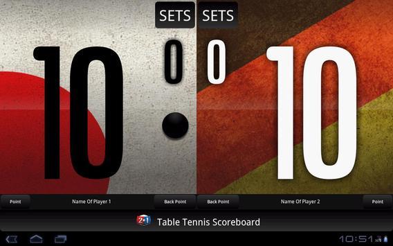 Table Tennis Scoreboard screenshot 8