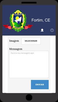 Prefeitura de Fortim - CE (TESTE) screenshot 1