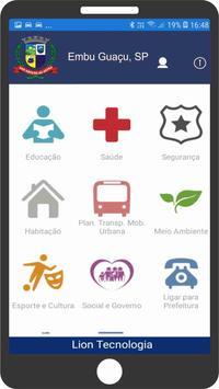 Prefeitura de Embu Guaçu - SP (TESTE) poster